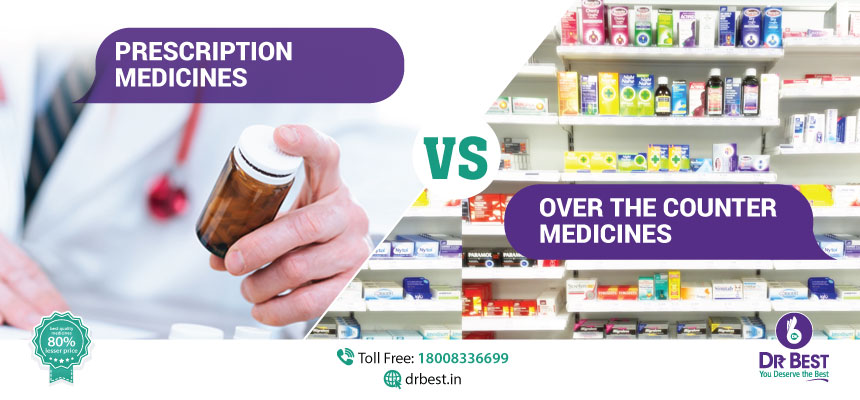 prescription and over the counter medicines