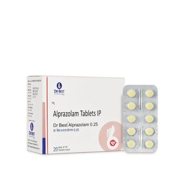 ALPRAZOLAM 0.25
