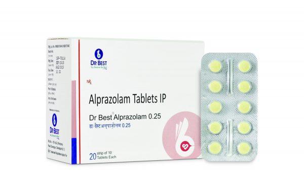 DR BEST ALPRAZOLAM 0.25