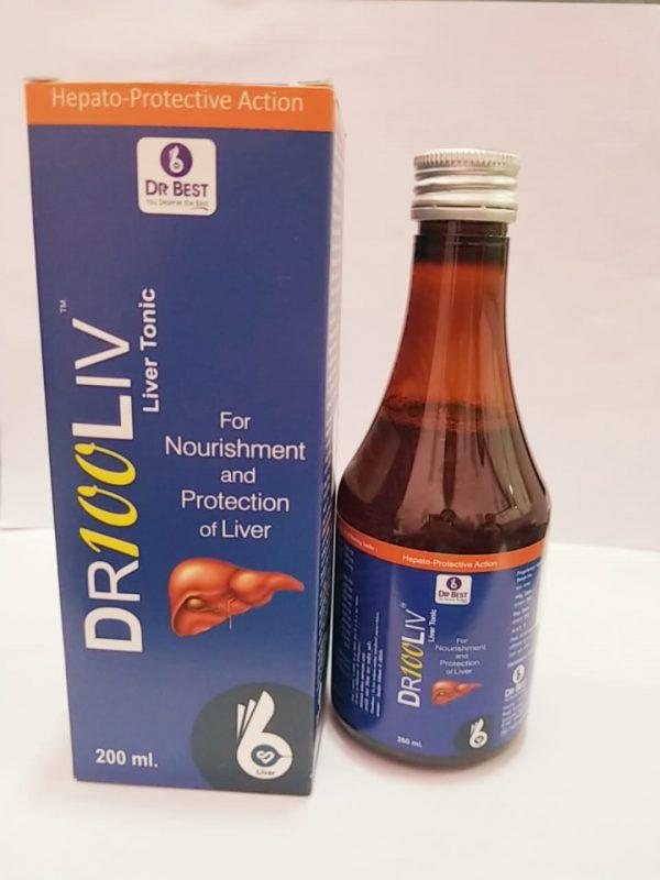 DR 100 LIV SYRUP