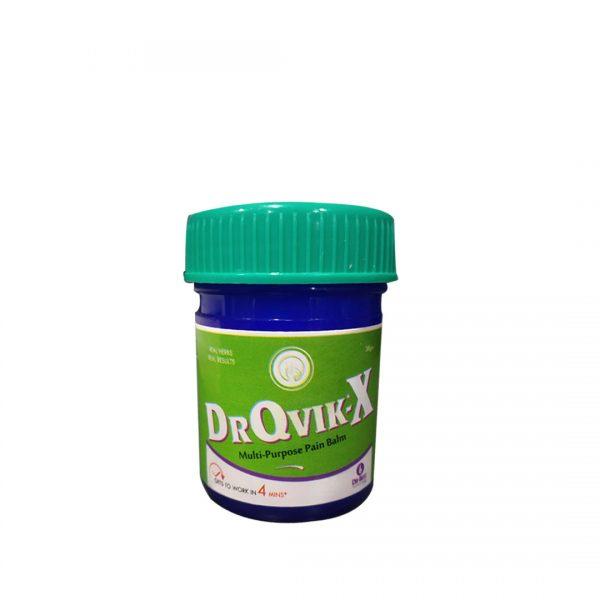 DR QVIK - X