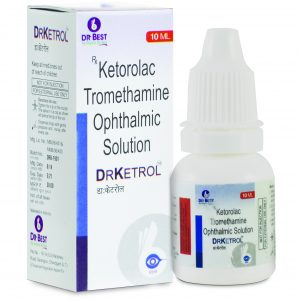 DR KETROL EYE DROP